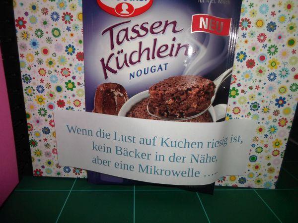 DIY - Wenn-Buch ... wenn du hunger auf Kuchen hast