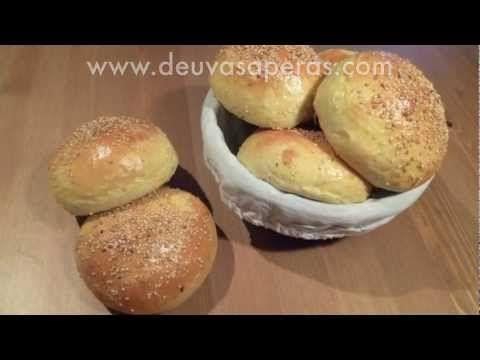 Como Hacer Hamburguesas Caseras - Masa de Pan de Hamburguesa - Parte 1 - YouTube