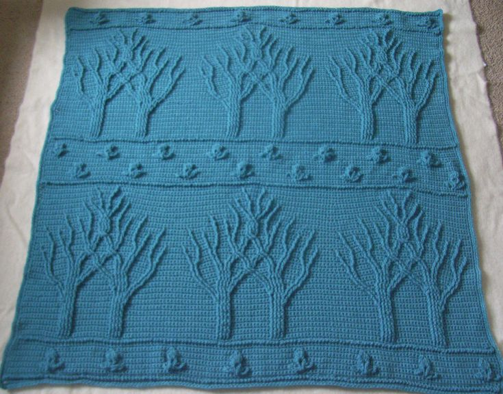 Ravelry: Tree of Life Afghan (Crochet) by Lion Brand Yarn