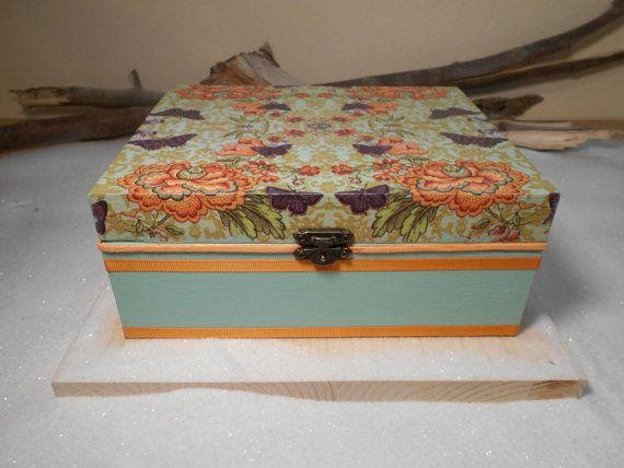 Handmade wooden box Wooden gift Romantic box Memory by Zozelarium