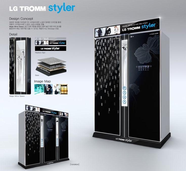Lg Tromm Styler Dressing Room Pinterest