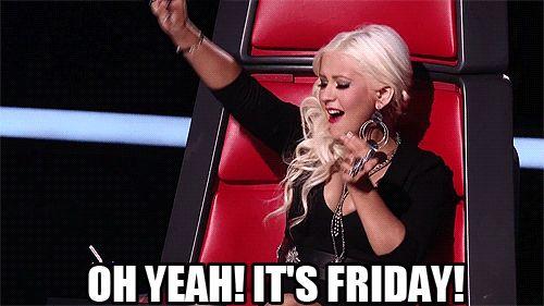 Christina Aguilera, Friday, it's Friday, oh yeah