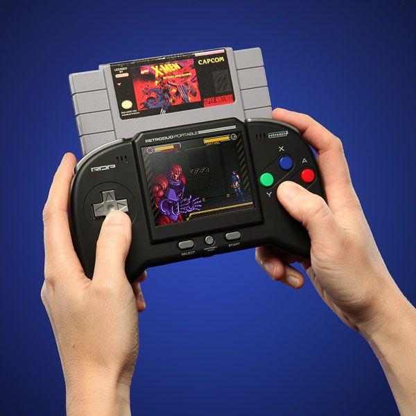 Retro Duo Portable NES/SNES Game System: Portable Nes Snes, Nes Snes Game, Retro Duo, Video Games, Duo Portable