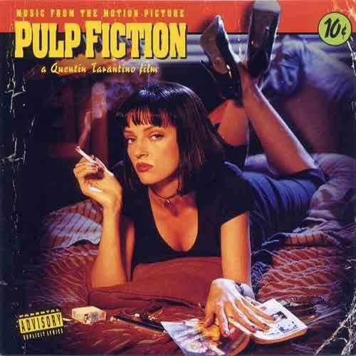 Pulp Fiction Soundtrack (180 Gram LP)  Vinyl records fuck yes... I wish!