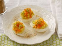 Cabot Yogurt Curry Deviled Eggs | Cabot Creamery