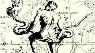 ... que existe um 13º signo, entre Escorpião e Sagitário, supostamente referente a uma 13ª constelação (Ophiuchus), que teria sido posta de parte pelos babilonios, por quererem apenas 12 signos.  Serpentário (Ophiuchus): De 29 Novembro a 17 Dezembro   Eu, serpentariana? Ah, nem, viu? *:(