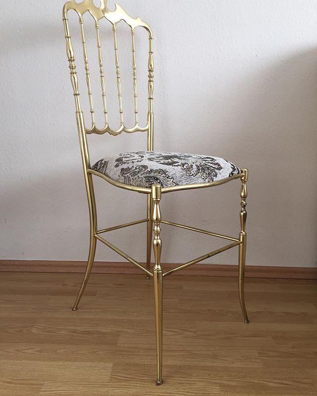 Vintage Designer Chiavari  Barockstil Messing Stuhl  #стул #стулья #антиквариат #винтаж #декор #старинный #старинная #старинные #коллекционные #коллекционный #коллекционная #мебель #латунь #Барокко #дизайн #Chiavari