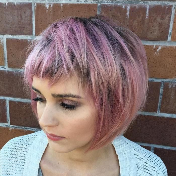Image Result For Short Bobs With Choppy Ends Hair In 2018