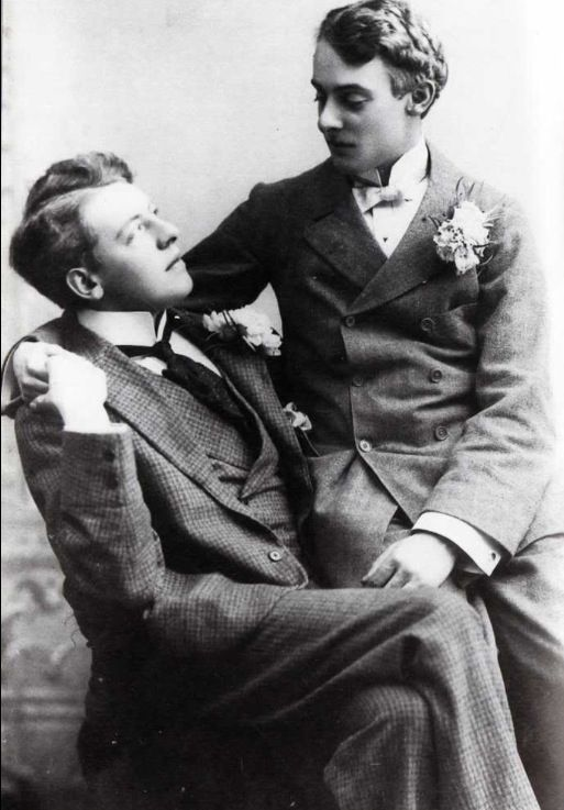 "Lord Alfred ""Bosie"" Douglas and Francis Douglas"