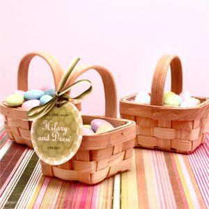 Mini basket - teddy bear picnic favours
