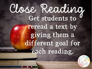 Giving kids a purpose for rereading is the key to close examination of a complex text. Works for all subjects and grade levels. CCRA.R.1