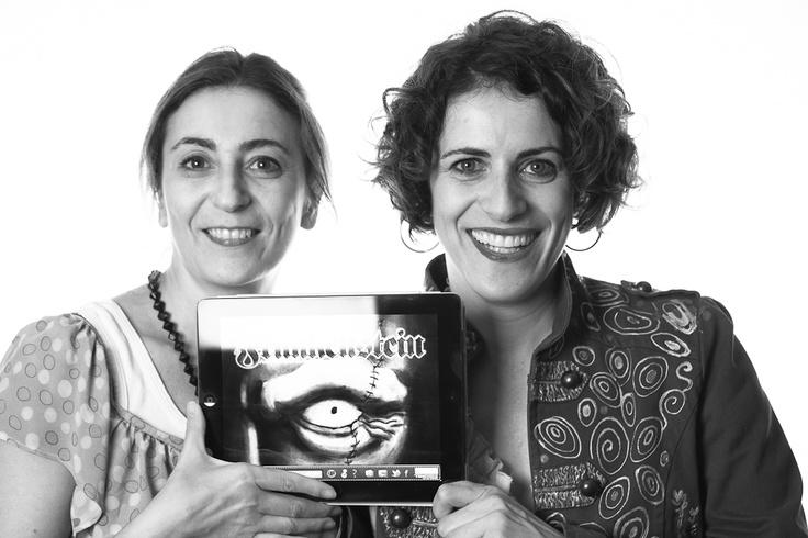 Dos invitadas de excepción en el evento de septiembre. Ana y Elena con Frankenstein, el último título de Touch Of Classic