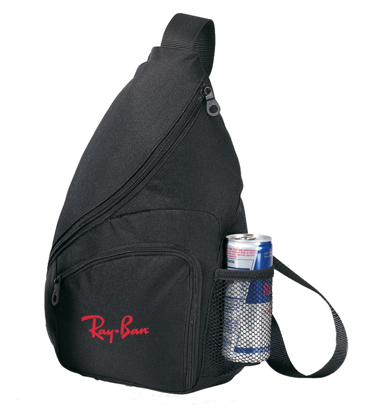 sling pack with water bottle pocket sports