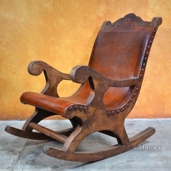 Large Salyulita Rocking Chair Spanish Rocking Chair Wood Rocking Chair Rocking Chair Rustic Dining Chairs