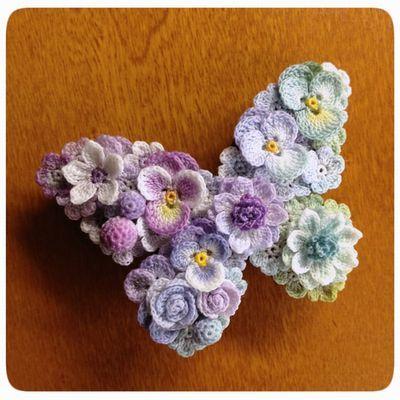 top crochet flowers