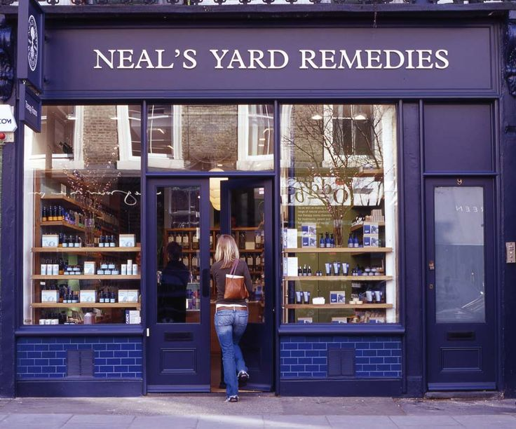 Neal's Yard Remedies - I would love to see this wee neighborhood.