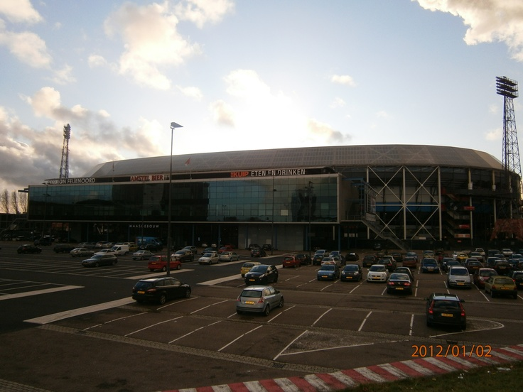 Feyenoord de Kuip Stadium, Rotterdam, Nederland