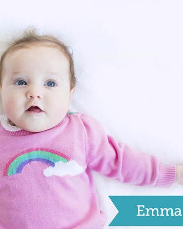 Top baby girls' names of 2015!