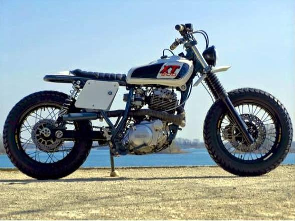 BF #33 - YAMAHA XT600E #BFMotorcycles - #BobberFucker