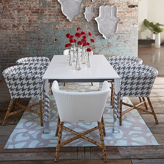50 Bold And Inventive Dining Rooms With Brick Walls: 279 Best Rattan Images On Pinterest