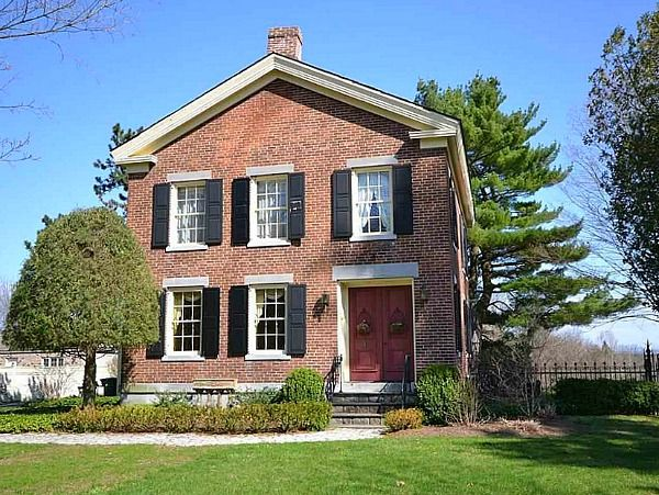 17 best ideas about early american homes on pinterest for Homes in colonial america