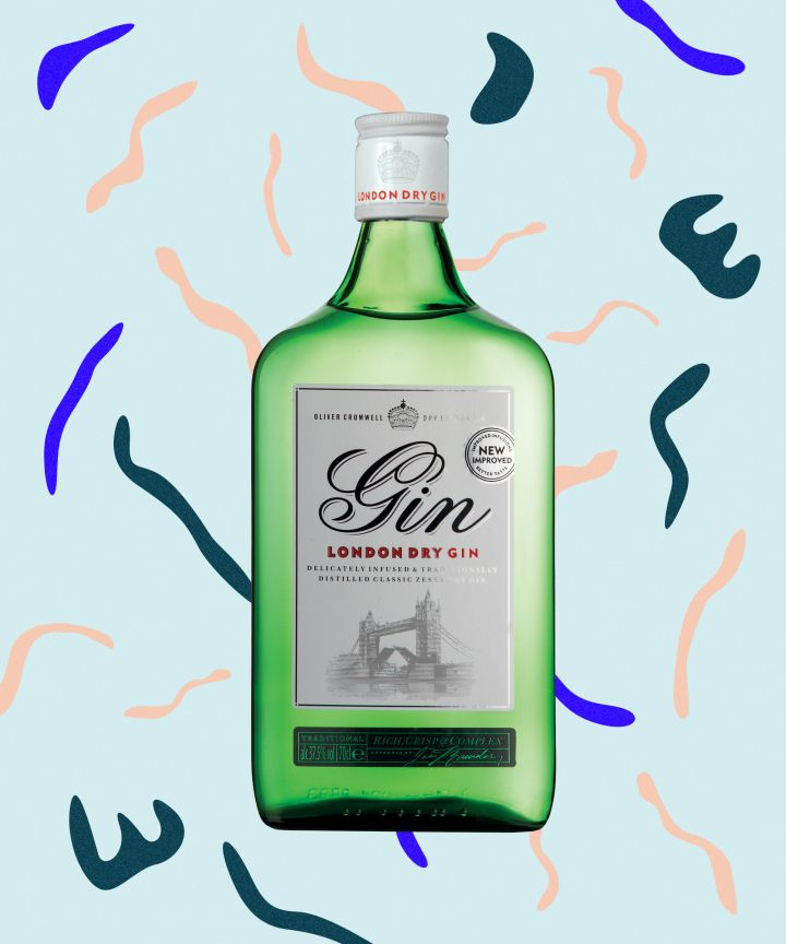 Aldi's dry gin was just awarded a coveted gold medal at the IWSC awards.