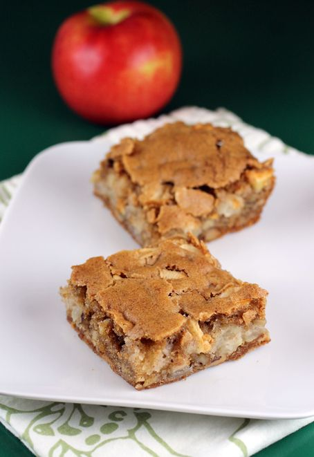Apple Brownies....Not your usual brownies. These are made with apples ...