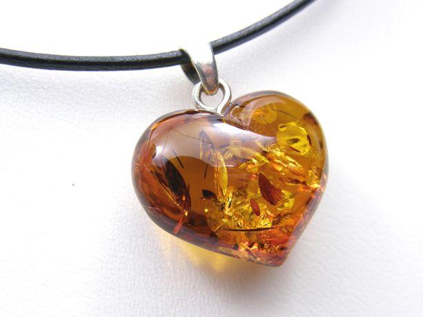Amber Heart Heart Pendants And Amber Jewelry On Pinterest