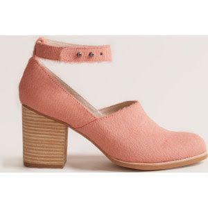 Gimme Shelter Heels in sherbet pink