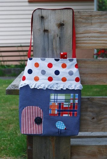 Little House Tote Bag for Kids