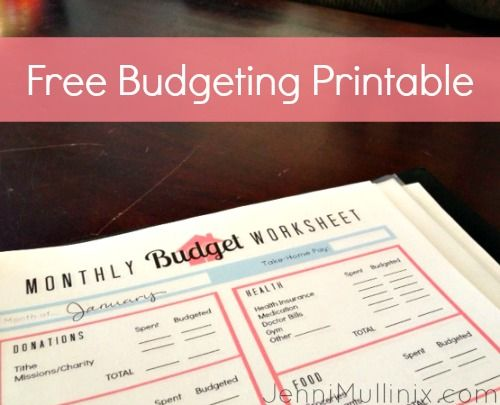 organizing finances with a budgeting notebook jenni mullinix
