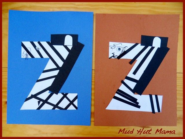 Z For Zebra Craft There Are Numerous Examples Out There