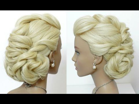 Hairstyles For Long Hair Tutorial Bridal Prom Updo Youtube