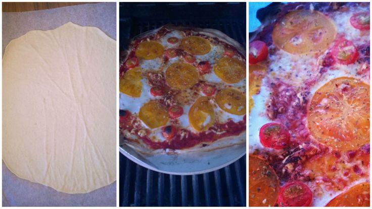 Pizzakastike yms. grillipizzaan