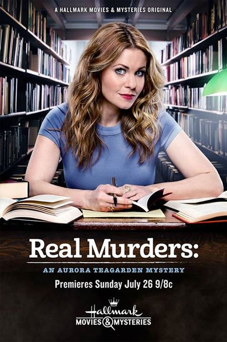 """Its a Wonderful Movie - Your Guide to Family Movies on TV: Hallmark Movies & Mysteries Presents: Candace Cameron Bure in """"Real Murders: An Aurora Teagarden Mystery"""""""