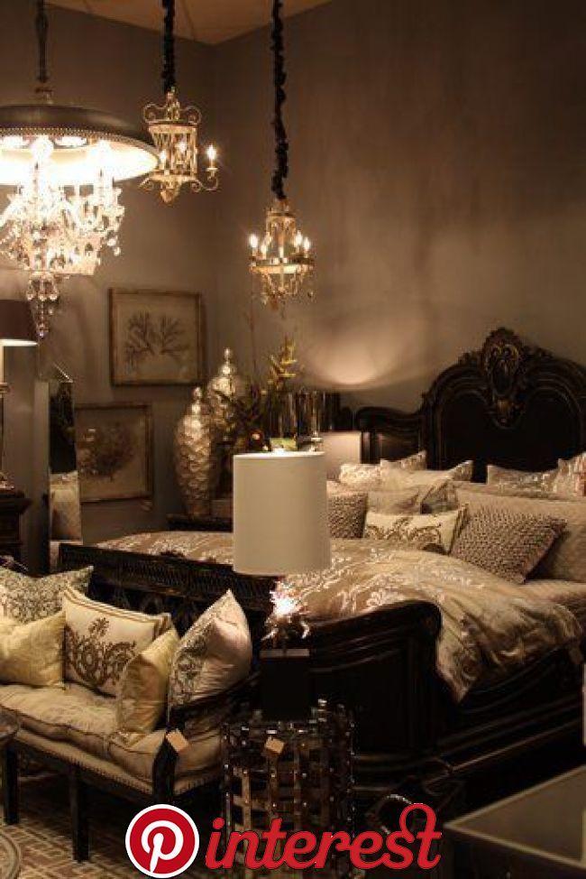 Best Glamorous Luxurious Dark Bedroom Ideas The Dark Colored Bedroom Is Not A Bad Choice Dark Colors Like Home Decor Bedroom Gold Bedroom Luxurious Bedrooms