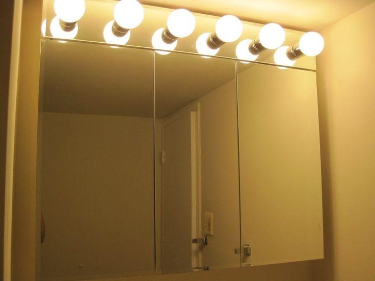 Bathroom Mirror Light Bulbs best 25+ vanity light bulbs ideas on pinterest | bathroom lighting