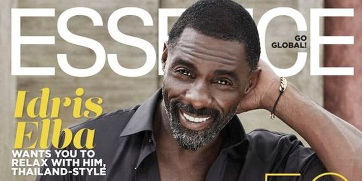 Idris Elba Covers Essence Magazine   Says He Doesn't Think He'll EVER Get Married Again!