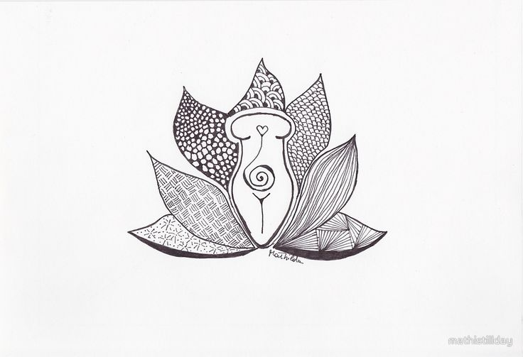 """""""Lotus Goddess (basic)"""" by mathistillday   Redbubble Visit the eshop and discover the energetic and holistic features of this design.  #mathishop #goddess #woman #mom #healing"""