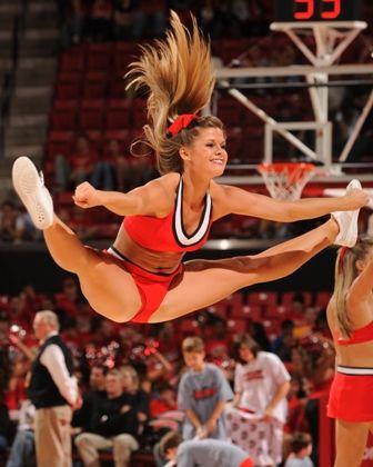 College Cheerleading Love : Photo