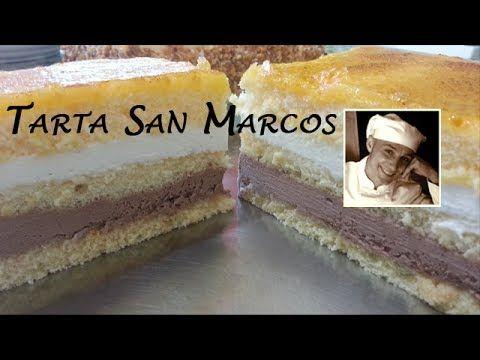"""Tonino, de """"Deja sitio para el Postre"""" te enseña a hacer una Tarta San Marcos Casera que se trata de un postre fácil y rápido con el que sorprenderás para cu..."""