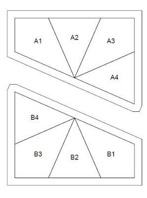 Kaleidoscope Block and Free Foundation Paper Piecing Pattern