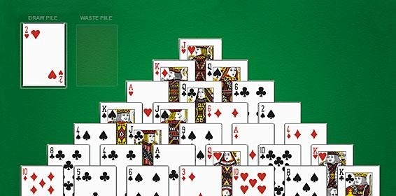 Play Pyramid Solitaire Free at American Family!  American Family has Pyramid Solitaire & Other Free Online Card Games.  Play Now at American Family.