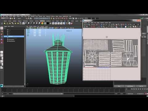 Using multiple UV tiles in Maya and Photoshop