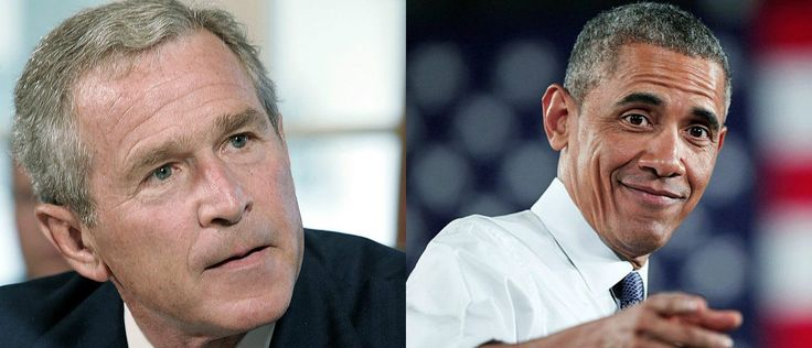 Obama is a disgrace ... Here's How George Bush Responded To Louisiana Compared To Obama Today