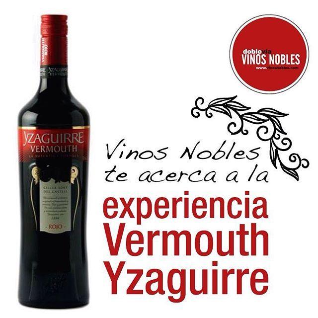 Hoy el aperitivo perfecto es este #VermouthYzaguirre Clásico Rojo. Nace en España en el viñedo #Yzaguirre y se disfruta en 35 países alrededor del mundo. La excelencia que acompaña cada detalle de este delicioso aperitivo te deleitará en cada trago. #VinosNobles te acerca a la experiencia.