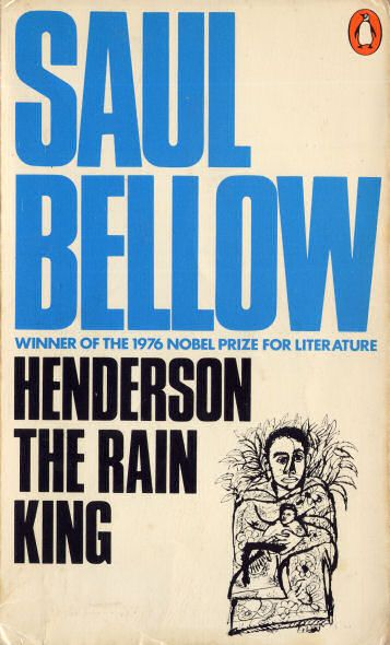 Penguin edition of 'Henderson the Rain King' by Saul Bellow