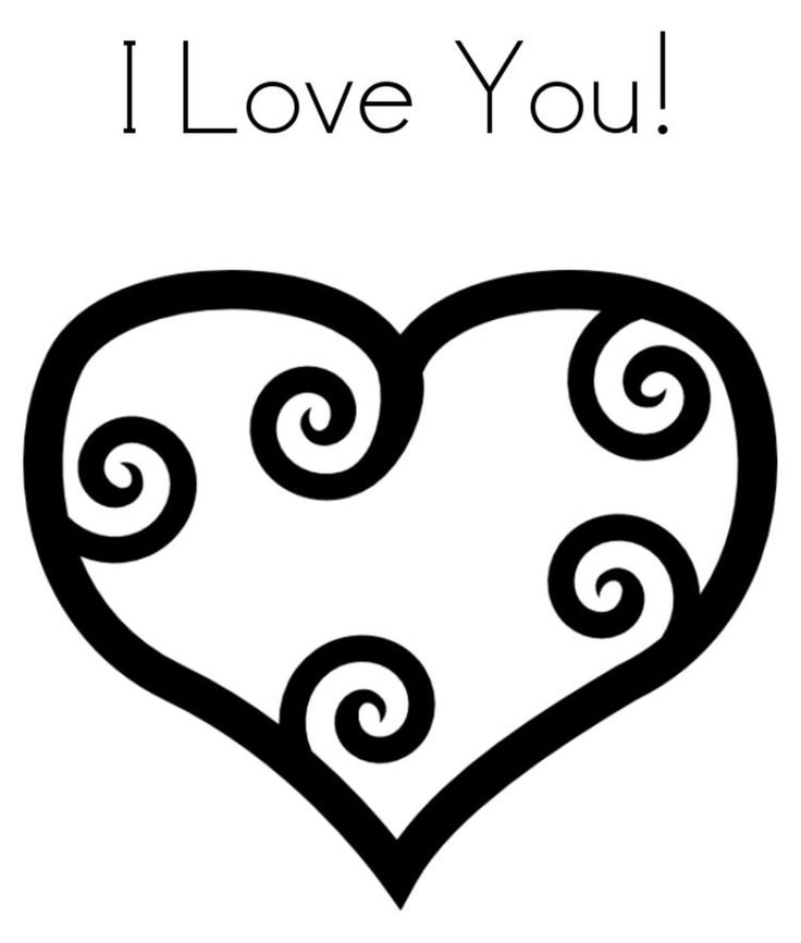 Read moreHeart I Love You Valentine Coloring Page | Heart ...
