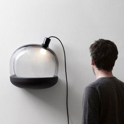 Lampe trou noir par Gaëlle Gabillet et Stéphane Villard