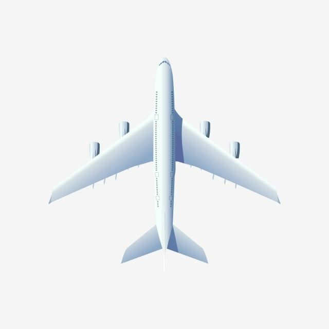 Flying Airplane Jet Aircraft Airliner Top View Of Air Plane 3d Png And Vector With Transparent Background For Free Download In 2020 Aircraft Jet Aircraft Cartoon Airplane